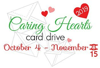 19 Card Designs for the Caring Hearts Card Drive