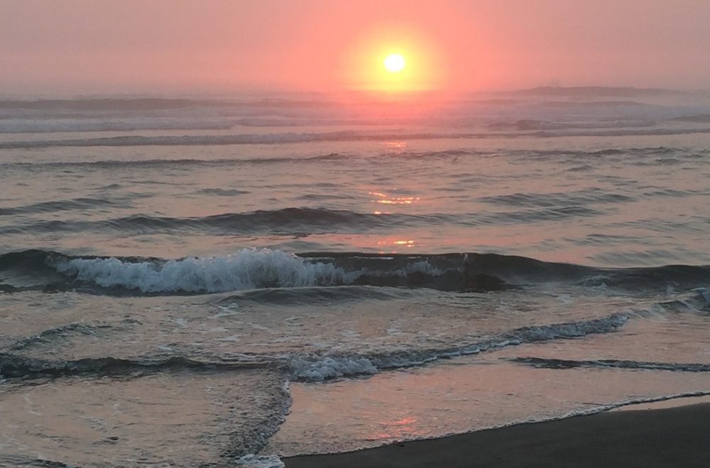 Amazing Sunset at the Oregon Coast