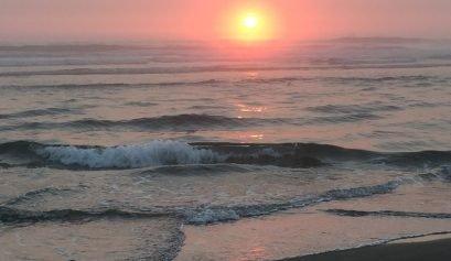 Amazing Sunset at the Oregon Coast