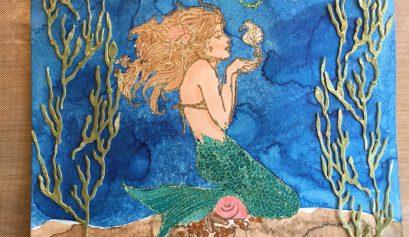 Mermaid Lindy's Stamp Gang LSG Starburst Spray