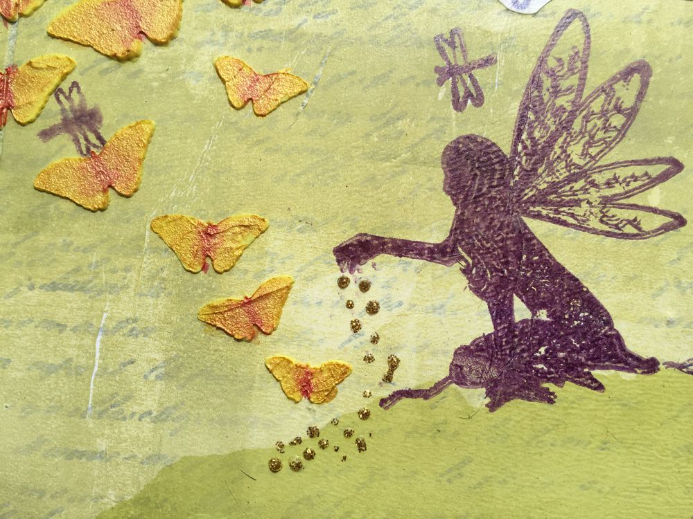 Lavinia Stamps Fairy Butterfly