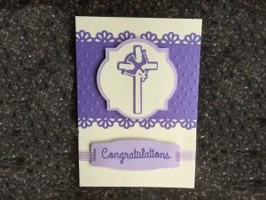 Elegant Confirmation Card