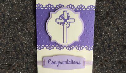 Elegant Confirmation Card