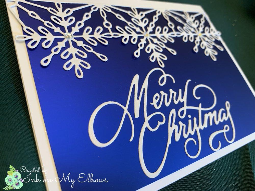 Stampin Up Swirly Snowflakes die detail
