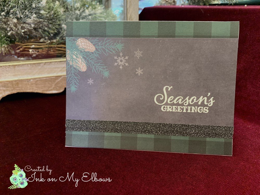 Masculine Christmas Card Recollections North Pole News