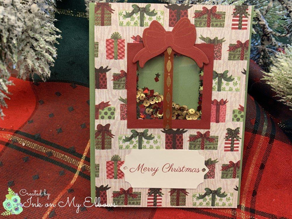 Gift Box Shaker Card