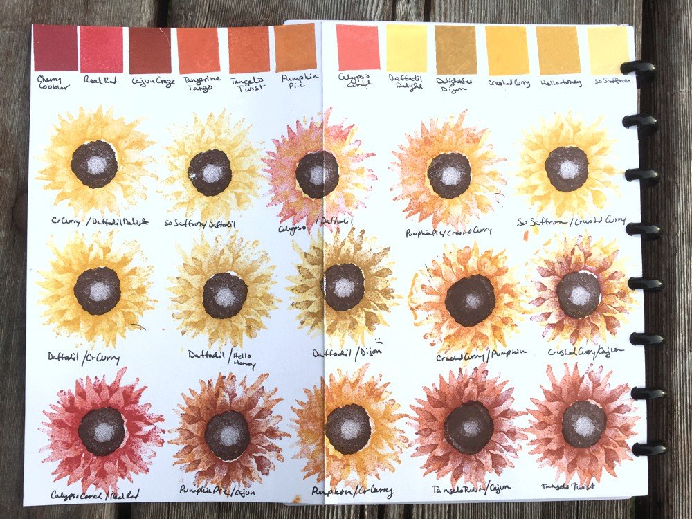 painted harvest color swatch