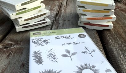 stampin' up inks Painted Harvest
