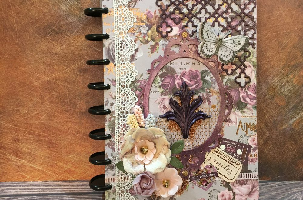 Prima Lavender Art Journal Cover