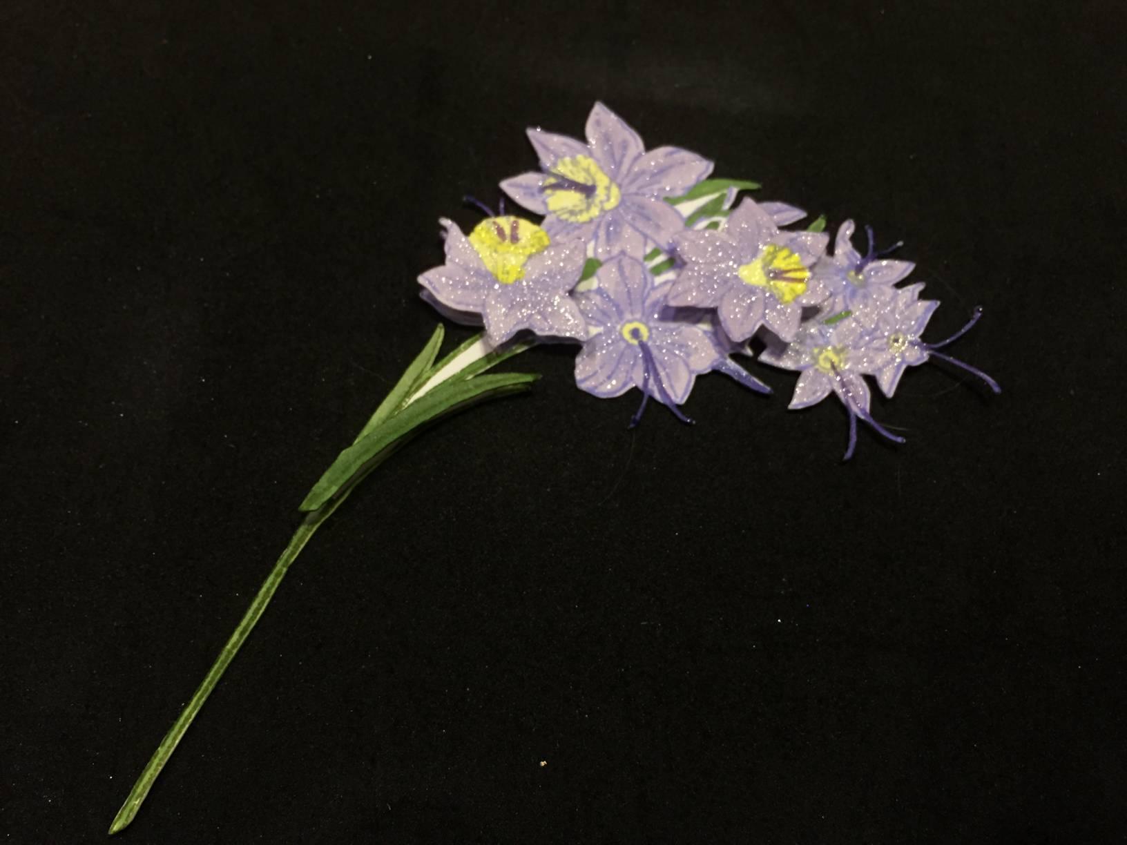 Spring Flower Card Flowers