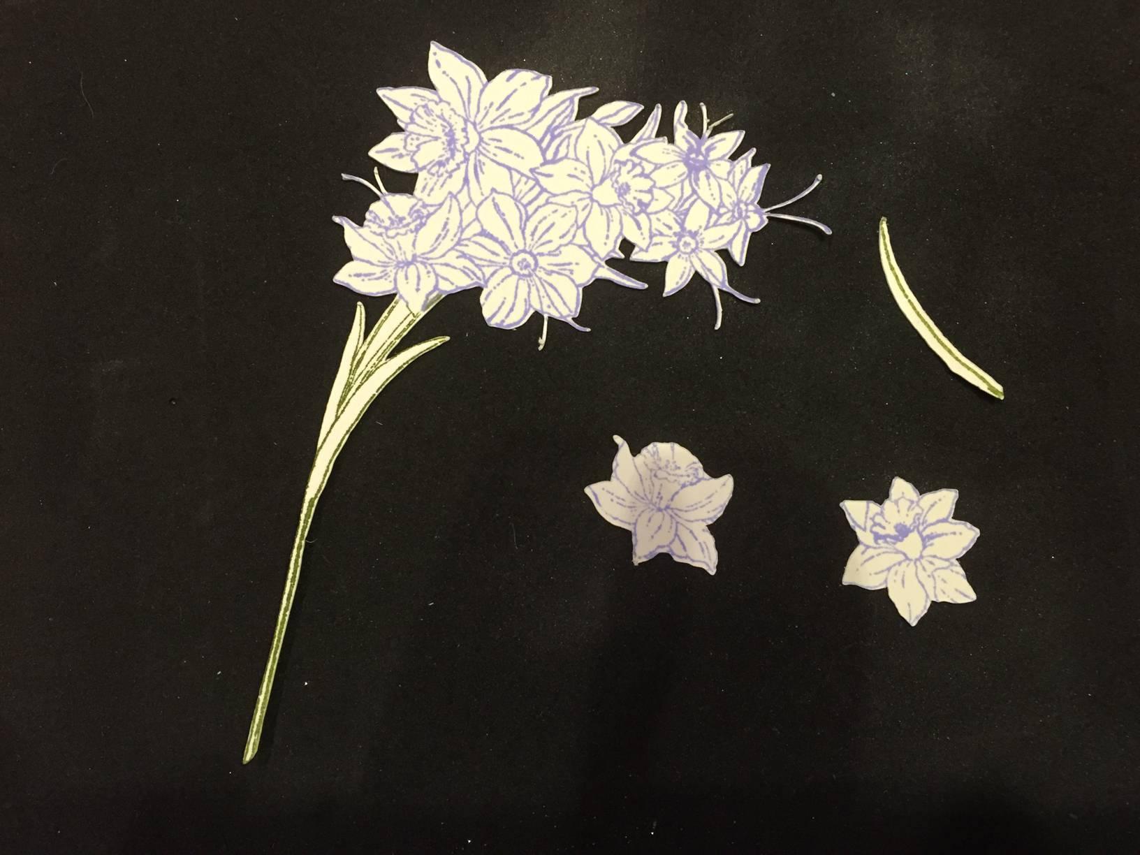 Spring Flower Card Step 5-5